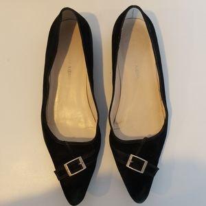 Black Etienne Aigner flat shoes size 5